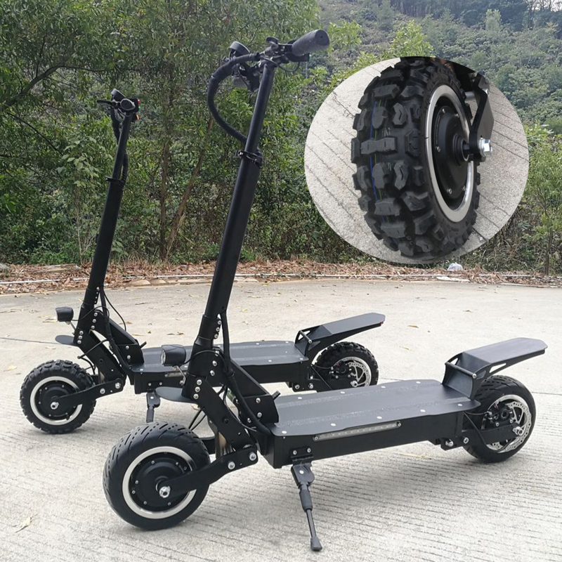 2018 New arrival electric scooter T112 11inch big e scooter with New Suspension <strong>system</strong>