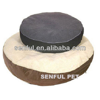 Comfortable Berber fleece suede pet bed dog bed