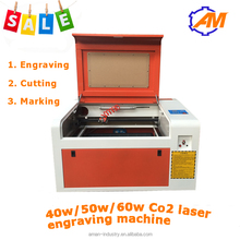 Hot sell laser engraving machine 4040 4060 3050 for plastic /perspex/MDF/plywood