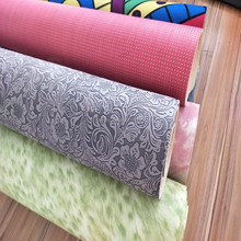 Gymnastics Custom Printed Natural Rubber TPE Yoga Mat Microfiber Gym Mat