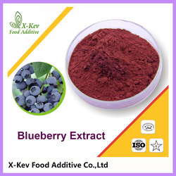 Wholesale 25% Anthocyanin Natural Blueberry Fruit Extract Prices
