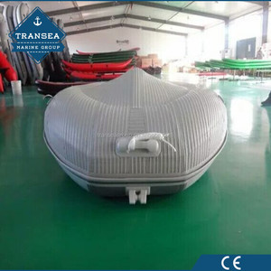 0.9mm PVC inflatable fiberglass boat with CE certificate for sale