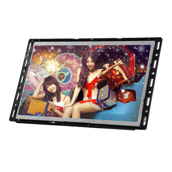 POP use battery operated lcd media player support 720P video