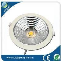 led motion sensor ceiling light 6inch cold forging heat sink powder spraying process special gradient reflector uniform lighting