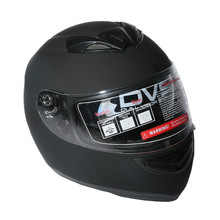 New Dual Visor Matte Black Street Sport Bike Full Face Motorcycle Helmet M/L/XL