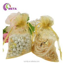 Personalized Colorful Silk Organza Bags