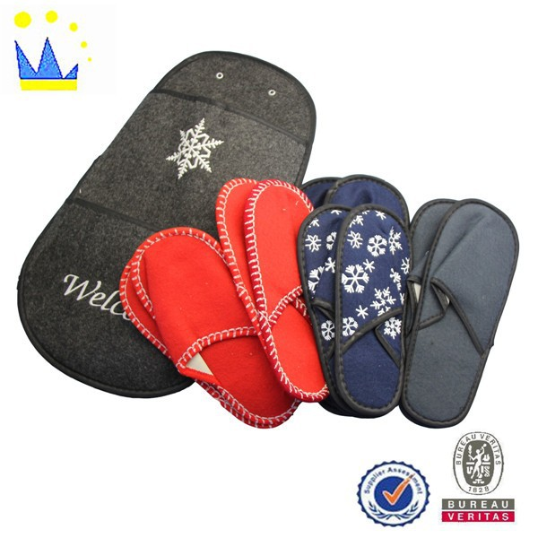 Family outdoor tourism slippers and hotel slippers portable travel essential supplies