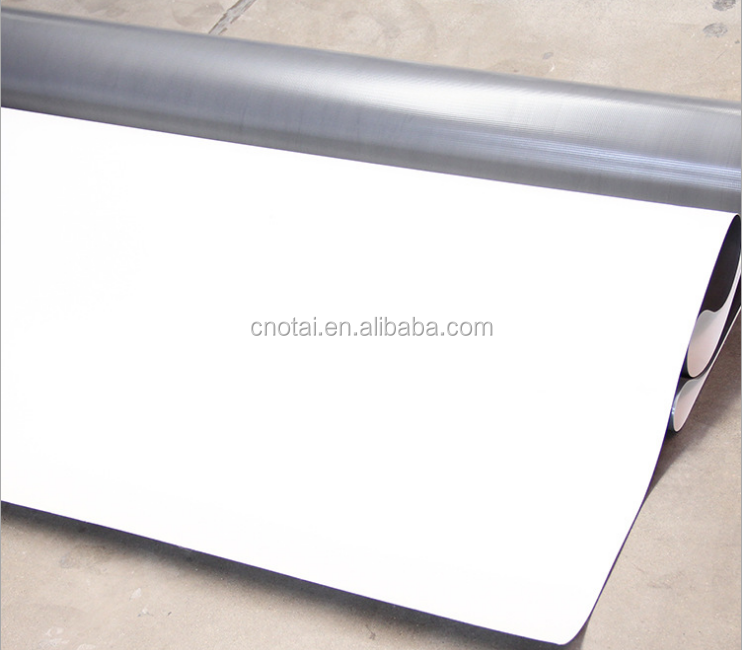 white exposed polyester reinforced tpo waterproof material roofing membrane