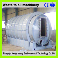 waste tyre pyrolysis plant to oil with ISO9001 automatic welding