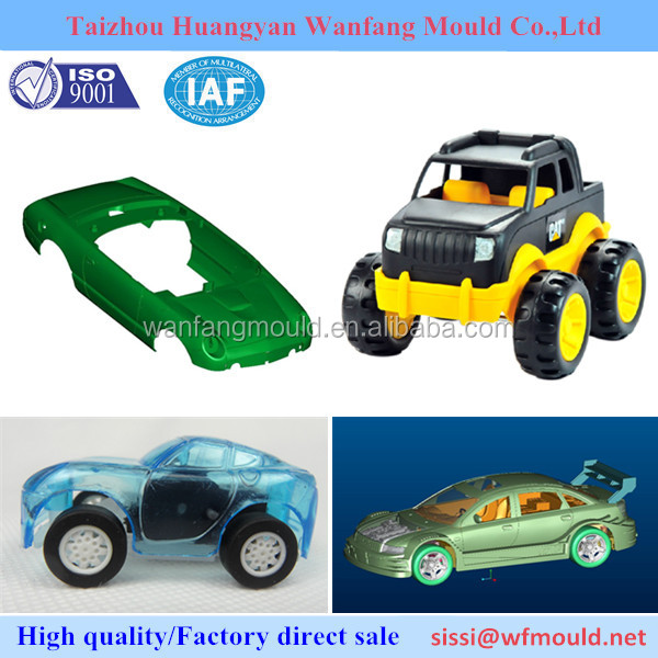 customer design plastic baby toy car injection mould/toy car injected mold