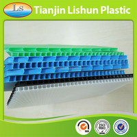 2015 recycling high quality low price pp twin wall board