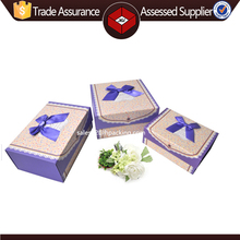 New Arrived luxury decorative handmade custom rectangle paper decoration boxes, luxury box packaging for girls dress