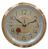 decorative wall clock factory China metal dial factory sale good quality