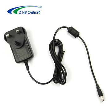CE EMC LVD UL certified level VI energy efficiency 12V 0.6A adapter 12V 600mA AC to DC adaptor 7.2W power adapter