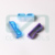 High quality blue plastic manicure nail clean brush