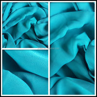 fabric chiffon 100% polyester soft feel wholesale chiffon fabric for dress