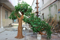 Factory price dry tree for hotel decoration fake big tree artificial live oak tree