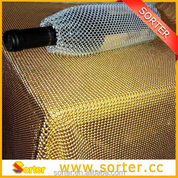 metallic sequin table cloth/angel table cloth