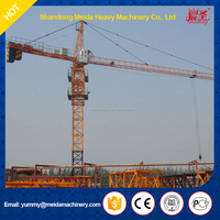 tower crane specification, 43m height 5510 boom crane, used tower crane for sale