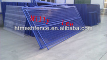 spray coated Canada model 6ftx9.5ft construction Temporary mobile Fencing panel professional factory