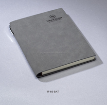 high quality PU leather notebook journal printing in Guangzhou China