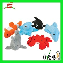 ocean stuffed toy sea animal crab fish seal toy plush