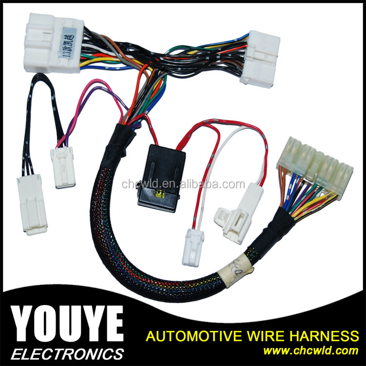 Auto Wiring Harness Manufacturers China OEM & ODM Copper Wire Harness with fuse box