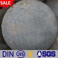 rolled and forged grinding steel ball 20mm to 150mm for mining and cement mill