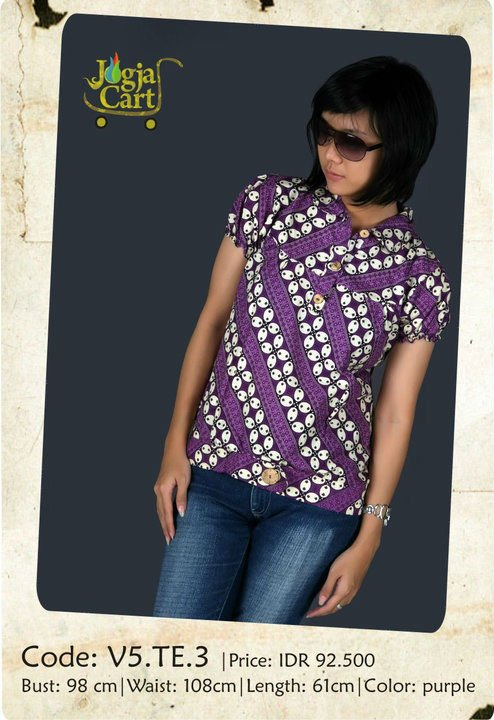 Casual Batik dress 2