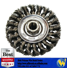 Twisted Knot Wire Wheel Brush Remove Paint Rust