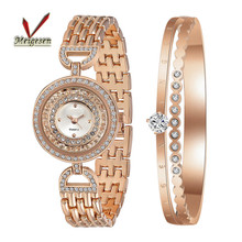New Arrival Diamond Vogue Stainless Steel Bracelet Luxury Women Watch