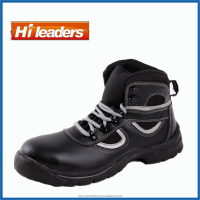 Cow Leather Safety Shoes Composite Toe Cap safety footwear with S3