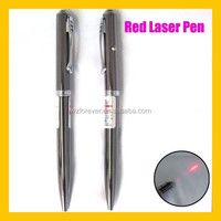 2015 High Quality 2 in 1 5mw/1mw Red Beam Laser Pointer Pen
