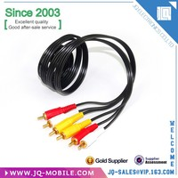 Chinses Supplier AV CABLE 3RCA To 3 RCA Male To Male AUDIO VIDEO Cord for TV DVD