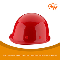Safety helmet for glass fiber reinforced plastic engineering