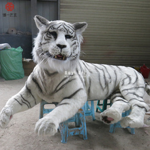 Animatronic Animals High Simulation Vivid and Wild Tiger Sculpture