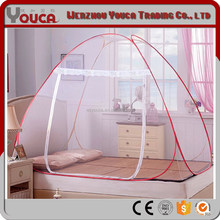 180*200*145cm 100% polyester Camping rectangular nets bed canopy hanging mosquito net