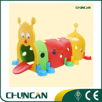 2016 Chuncan Kids Plastic Tunnel Toy Baby Furniture