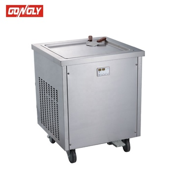 Snack equipment made in China roll fry ice cream machine Roll fried ice cream machine