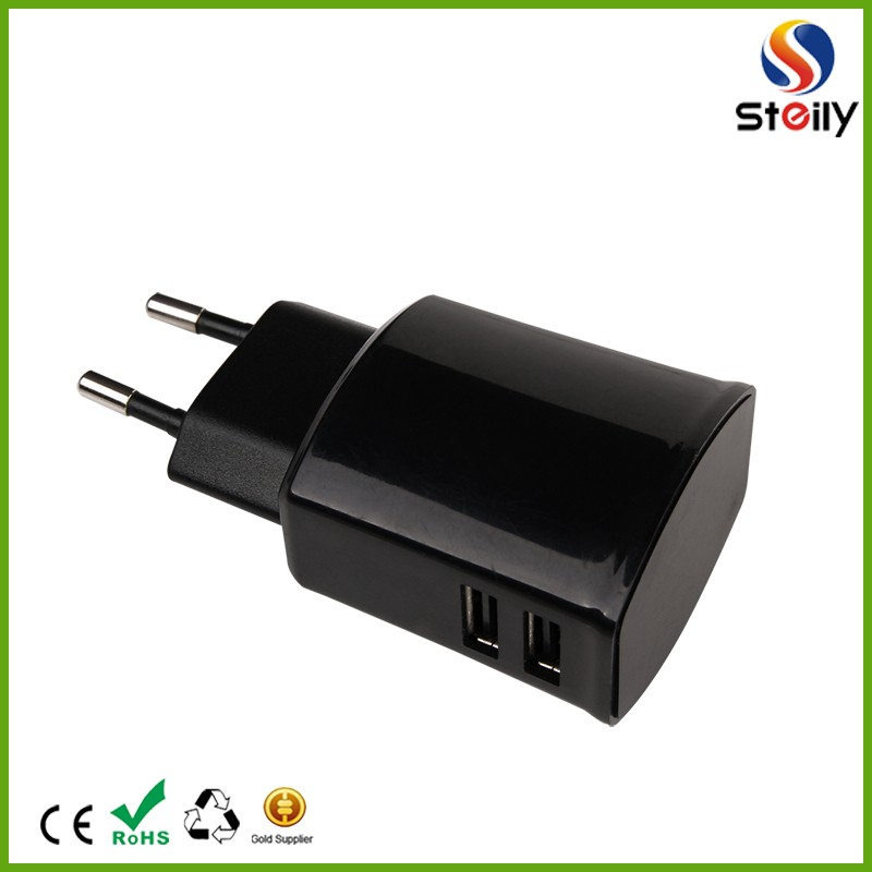 Best quality double usb mobile phone travel charger OEM/ODM is available