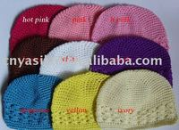 Toddler baby crochet kufi hats beanie cap Fashionable Baby Crochet Hat, Hand Knitting YL01434