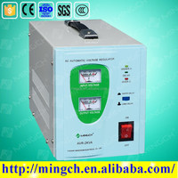 AVR Relay Type Single Phase 2 KVA Automatic Voltage Regulator