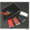 Leather USB Flash Drive With Logo Memory USB Pendrive 16GB 32GB