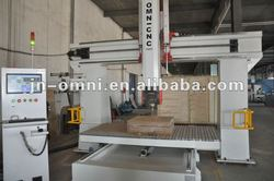 Omni 5 axis cnc router for wood/model/foam shaping 1224