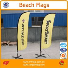 Printed flying flag banners for publicity show