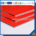 Popular peal color outdoor aluminum composite wall panel