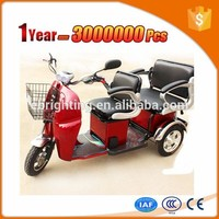 new energy tricycle for old people and handicapped with 4 passenger seat