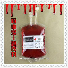 Bloody Bash Halloween Party Medical Blood Bag Manufacturers