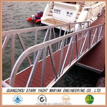 Marine Simple installation floating boat jetty and dock design