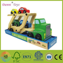 Factory Sale High Quality Wooden Model Toy Car Carrier